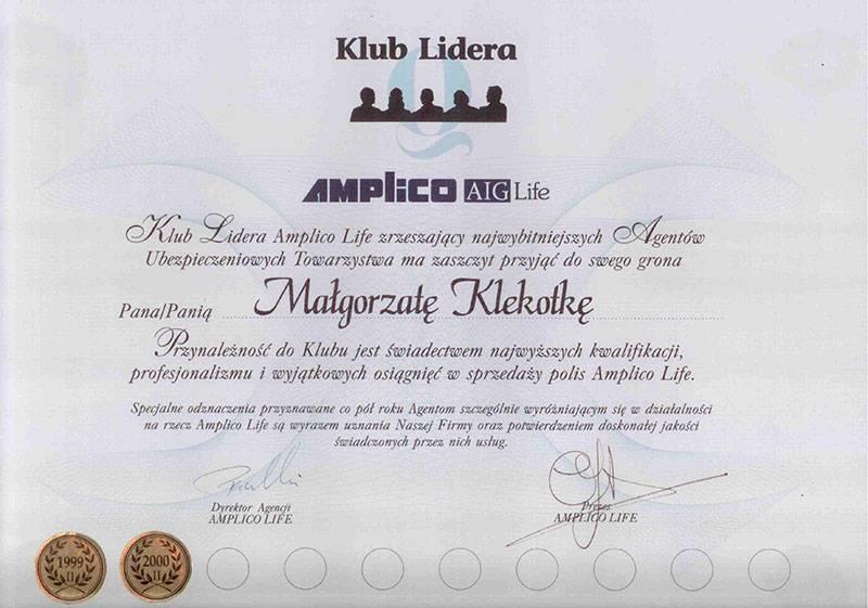 Certyfikat 3